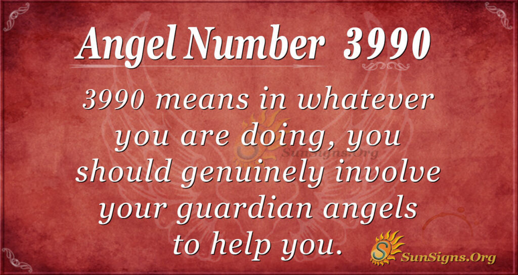 3990 angel number