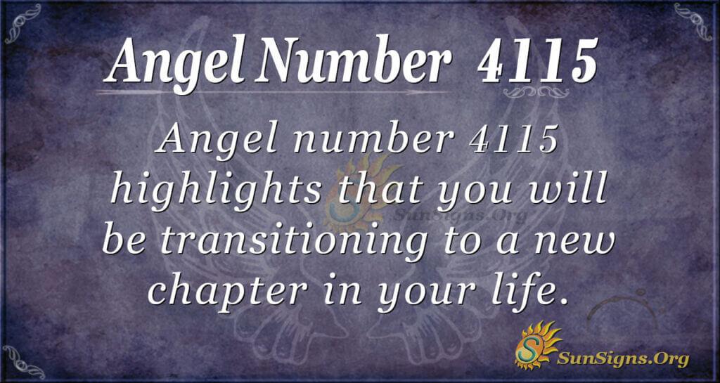 4115 angel number