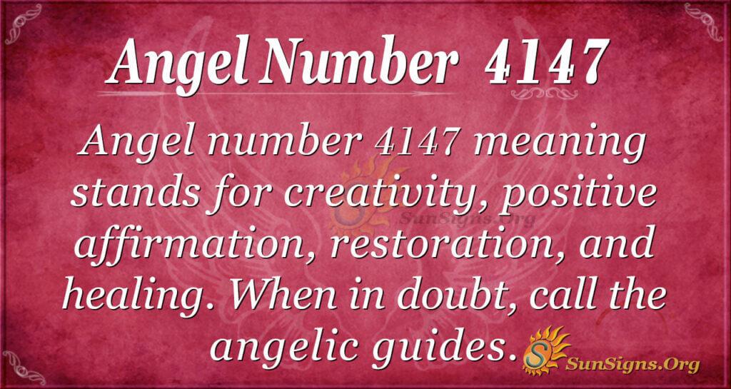 4147 angel number