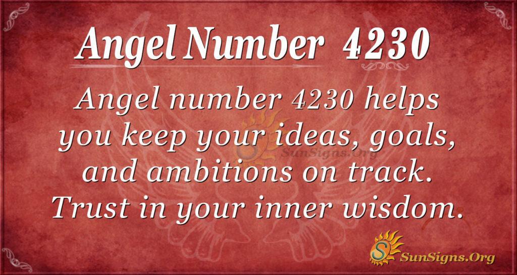 4230 angel number