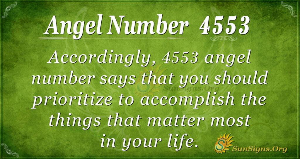 4553 angel number