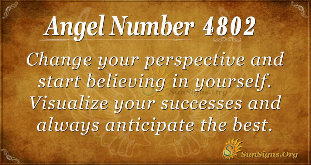 4802 angel number