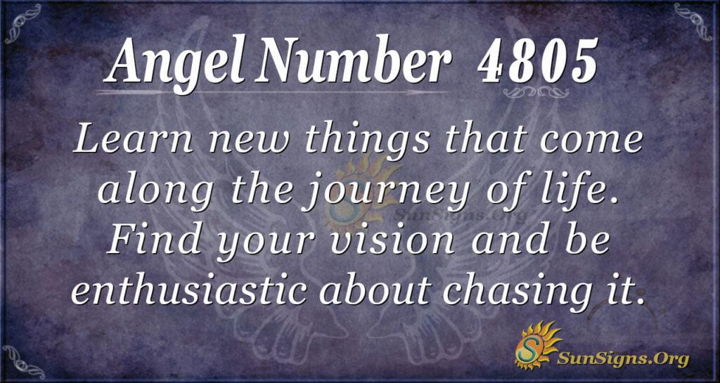4805 angel number