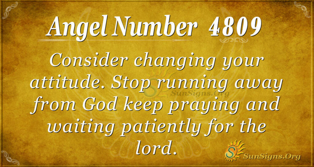 4809 angel number