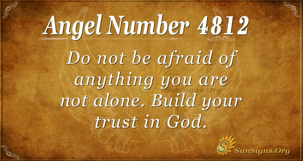 4812 angel number