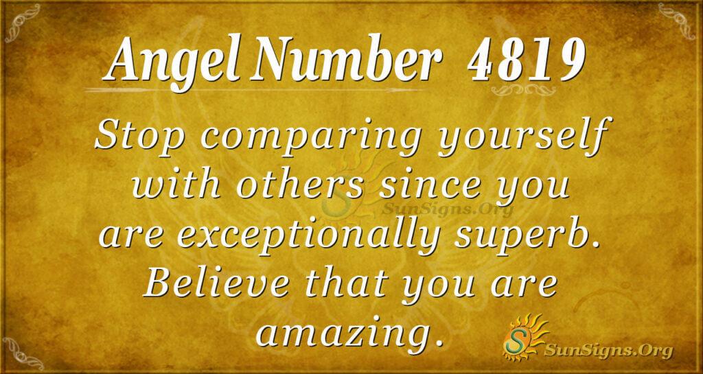 4819 angel number