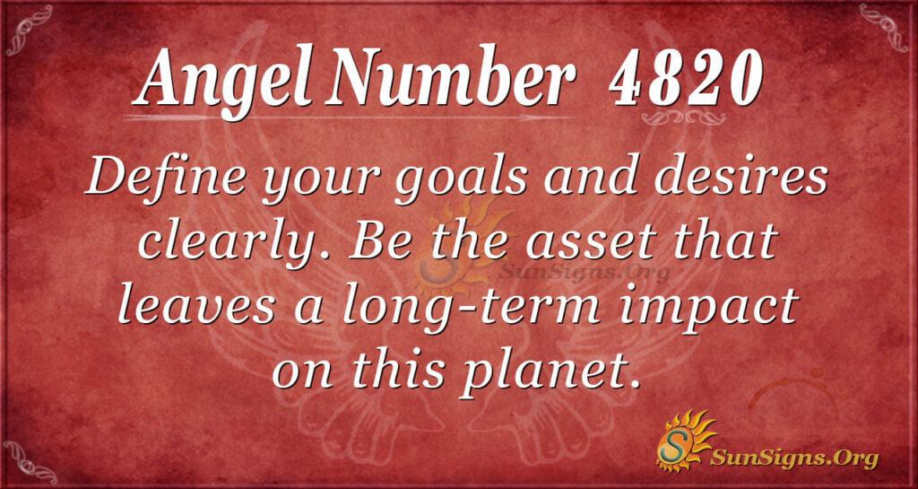 4820 angel number
