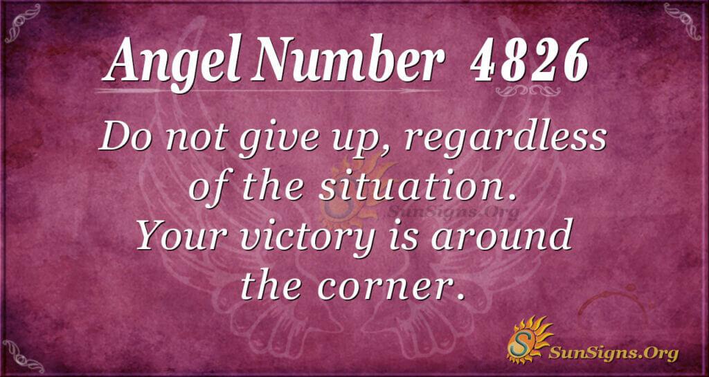 4826 angel number