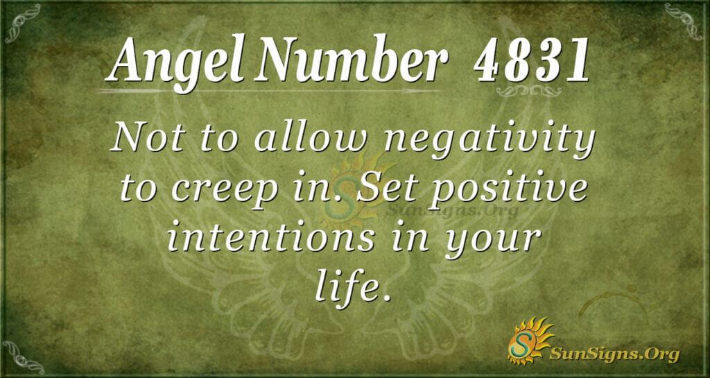 4831 angel number