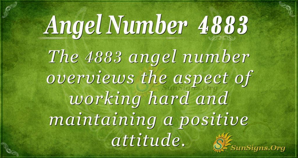 4883 angel number