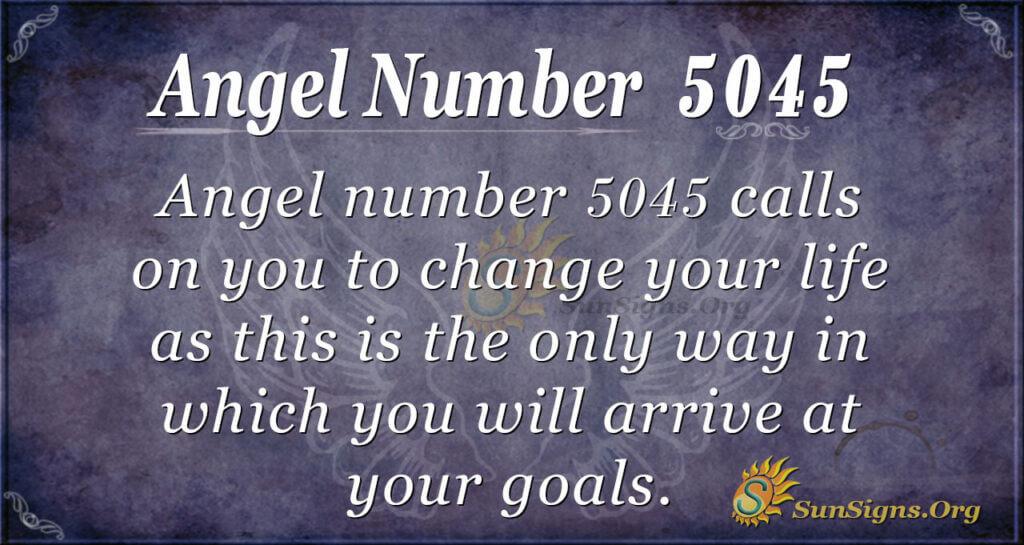5045 angel number