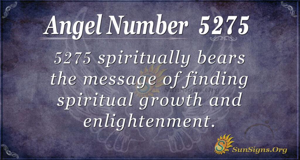 5275 angel number