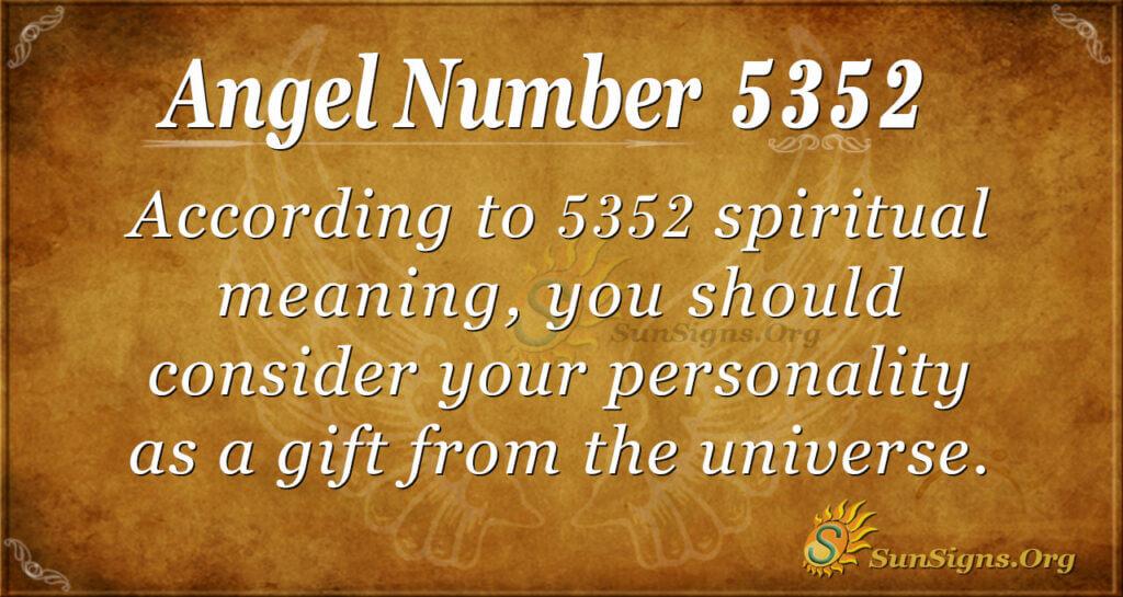 5352 angel number