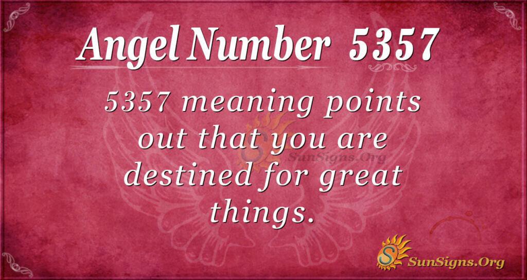 5357 angel number