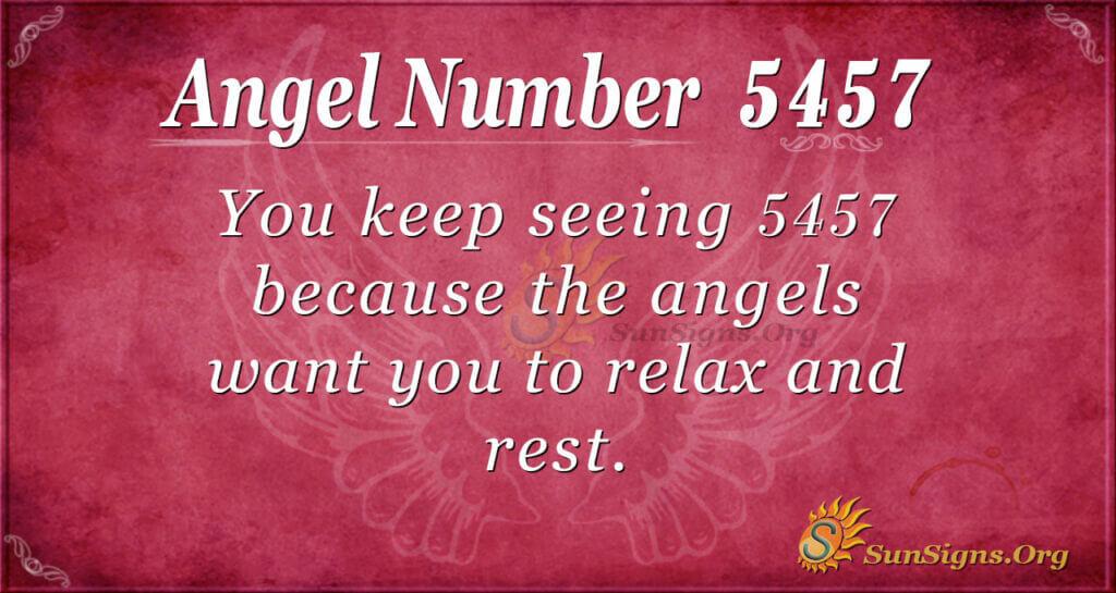 5457 angel number