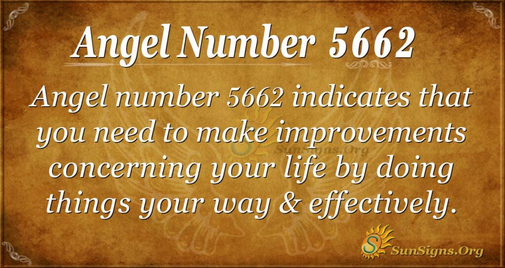 5662 angel number