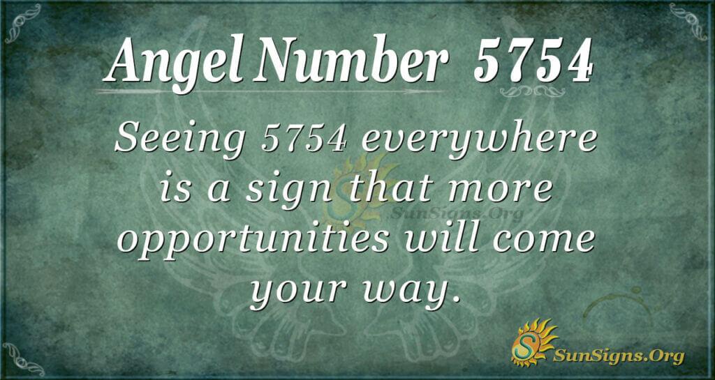 5754 angel number