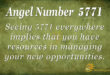 5771 angel number