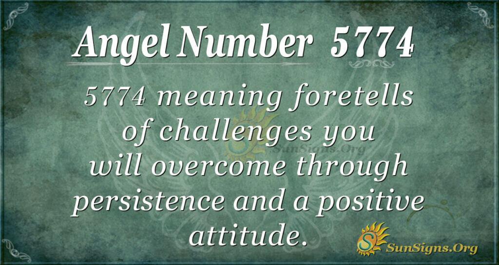 5774 angel number