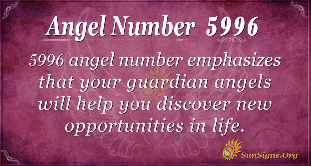 5996 angel number