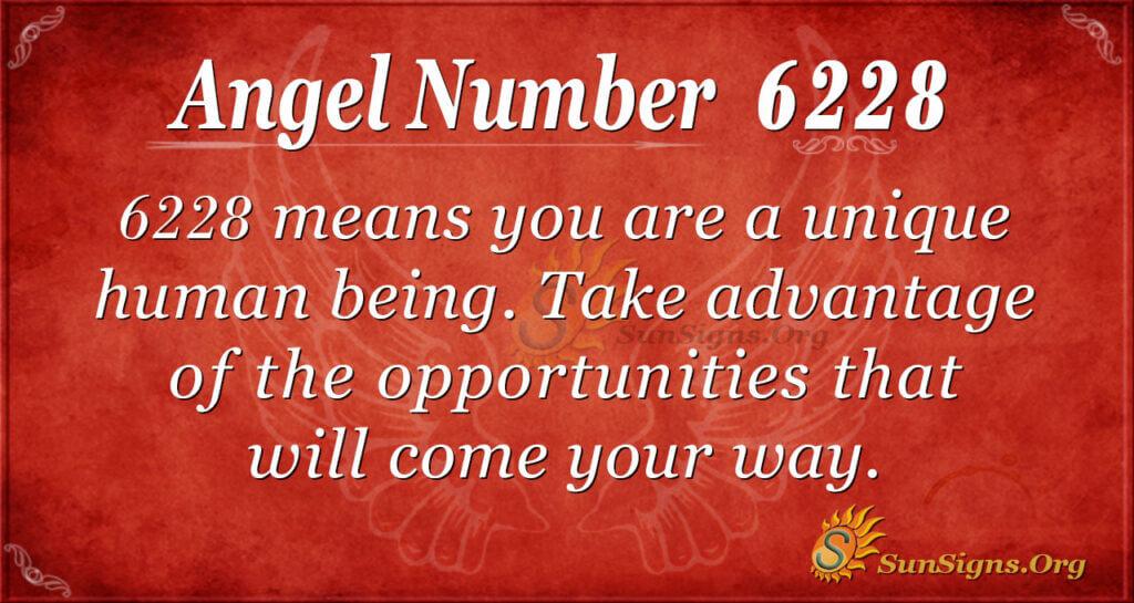 6228 angel number