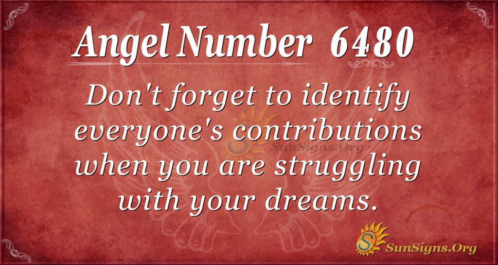 6480 angel number