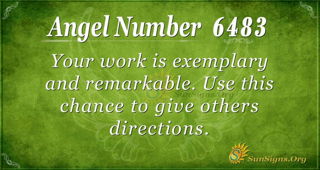 6483 angel number