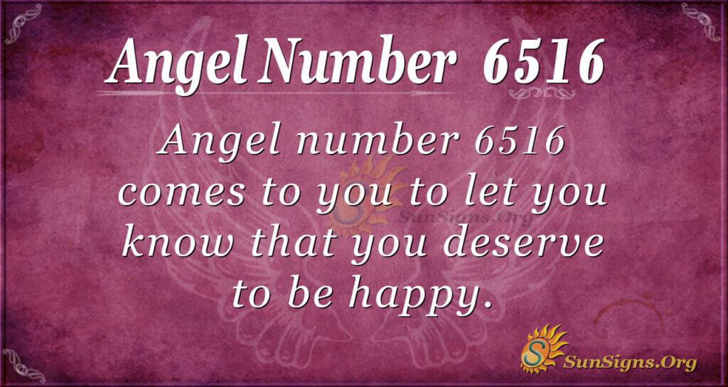 6516 angel number