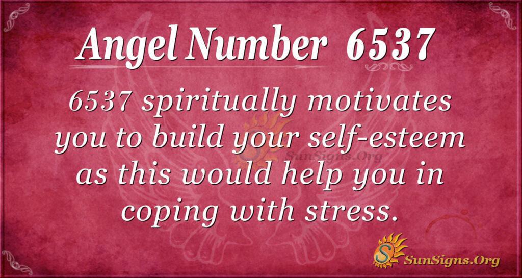 6537 angel number