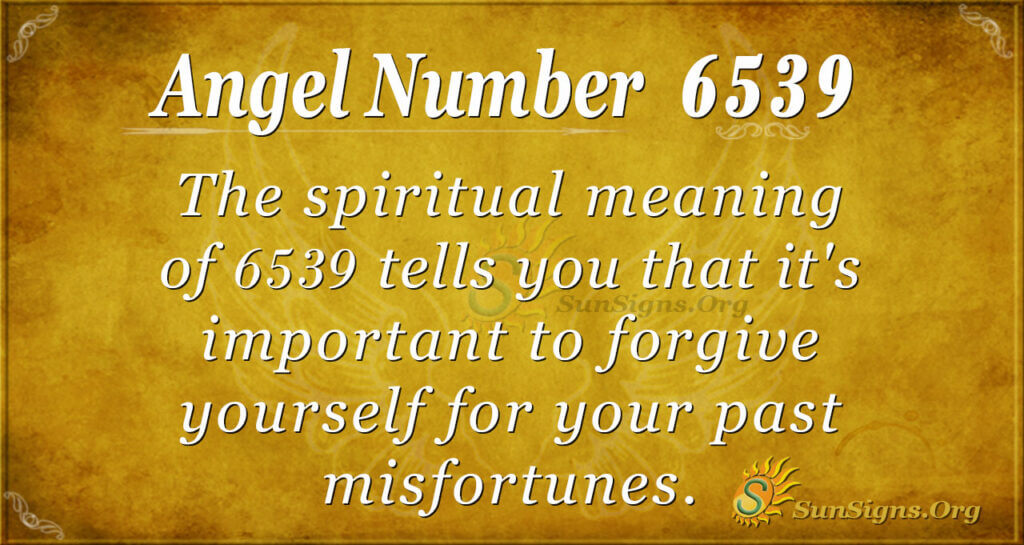 6539 angel number