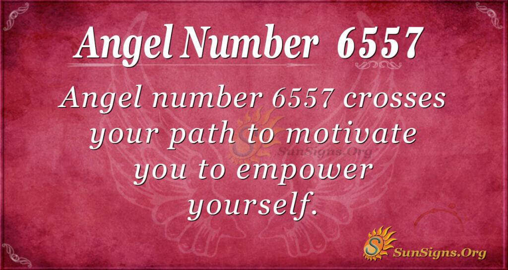 6557 angel number