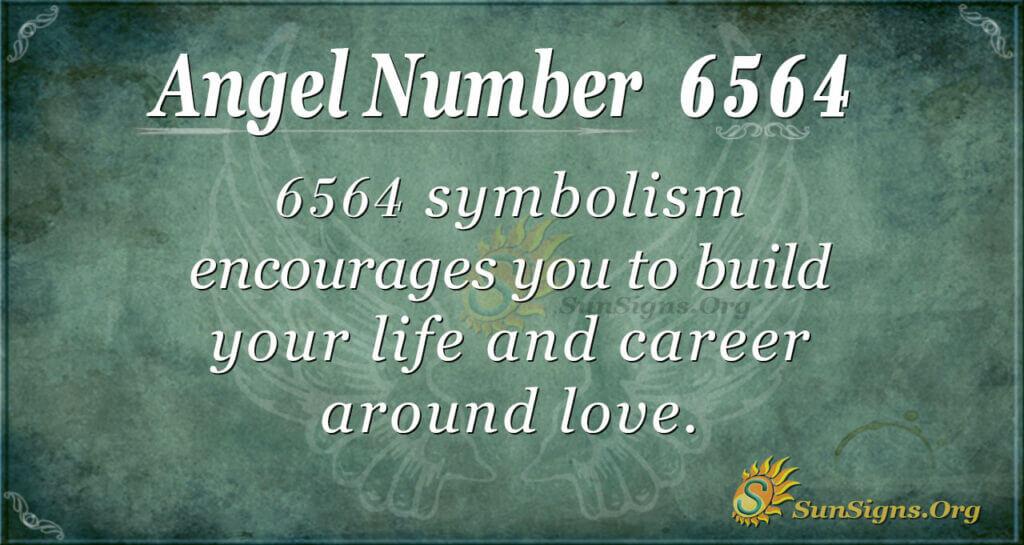 6564 angel number