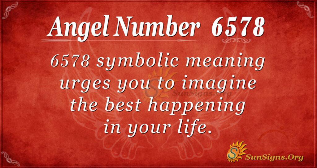 6578 angel number