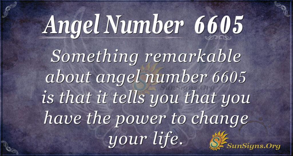 6605 angel number