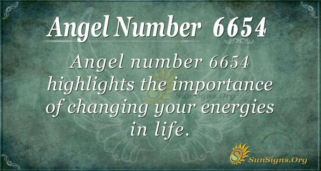 6654 angel number