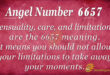 6657 angel number