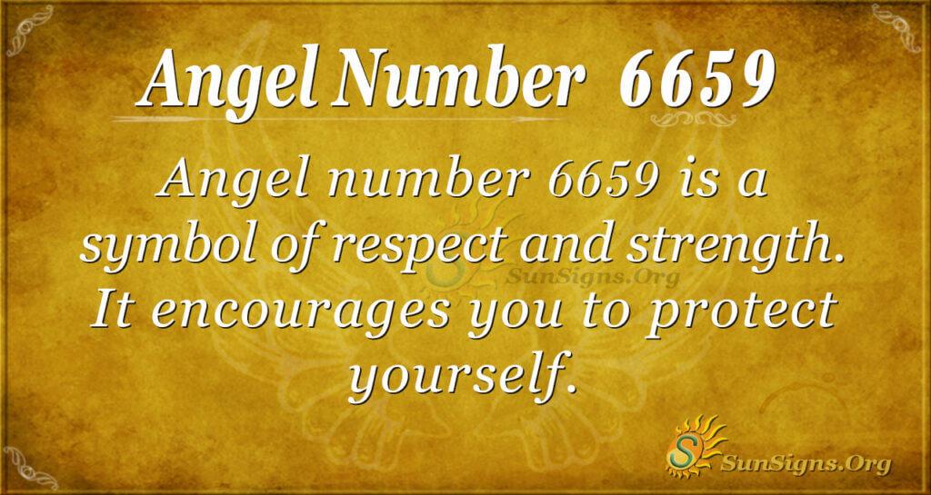 6659 angel number