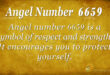 6659 angel number