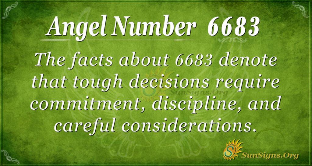 6683 angel number