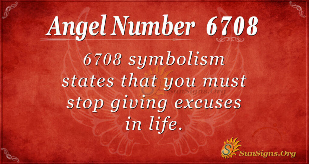 6708 angel number