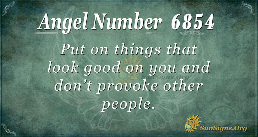 6854 angel number