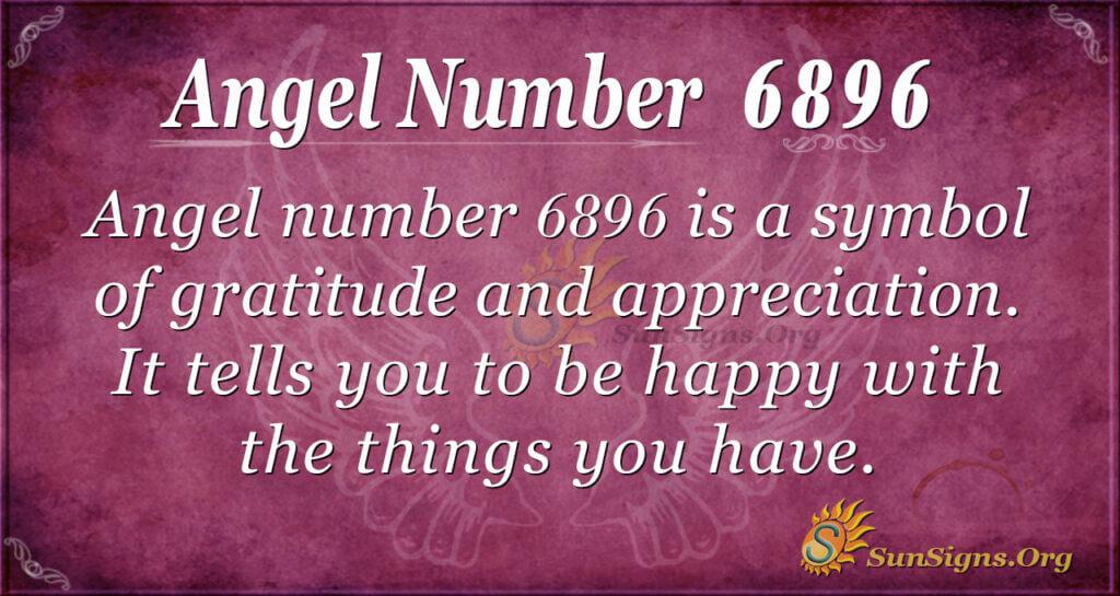 6896 angel number