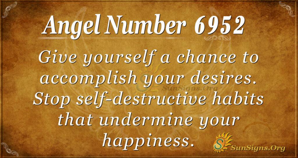 6952 angel number