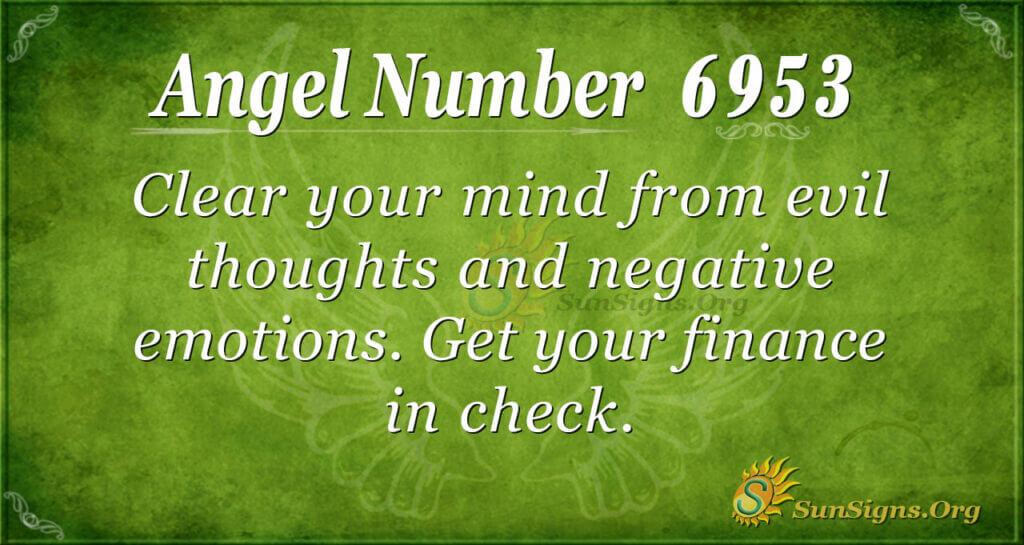 6953 angel number