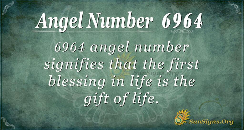 6964 angel number