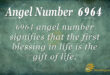 6964 angel number