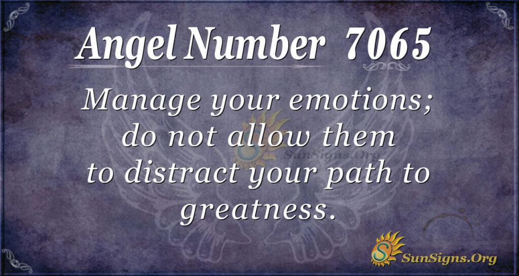 7065 angel number
