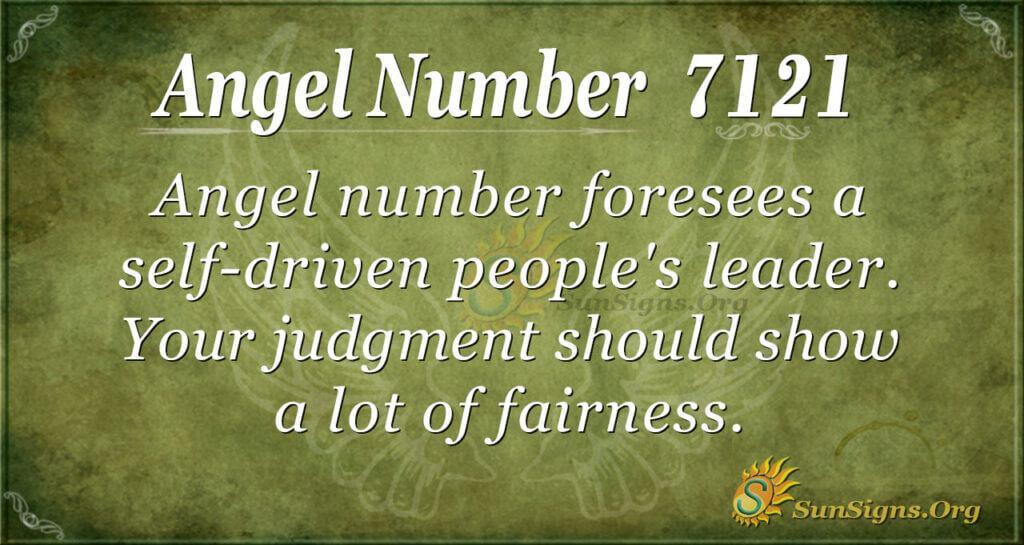 7121 angel number
