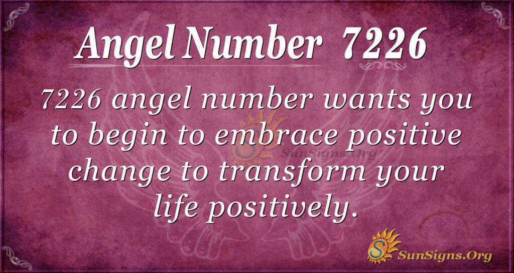 7226 angel number