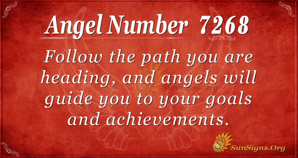 7268 angel number